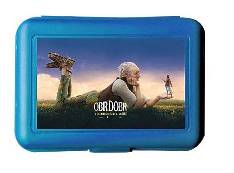 Soutěž o 5x svačinový box s filmem Obr Dobr