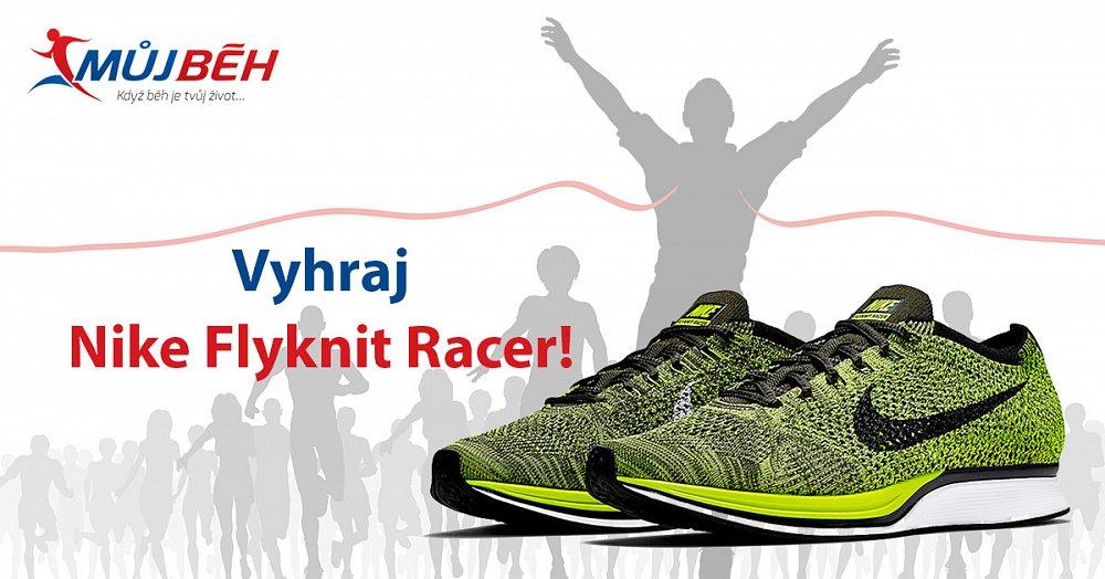 Soutěž o běžecké boty Nike Flyknit Racer!
