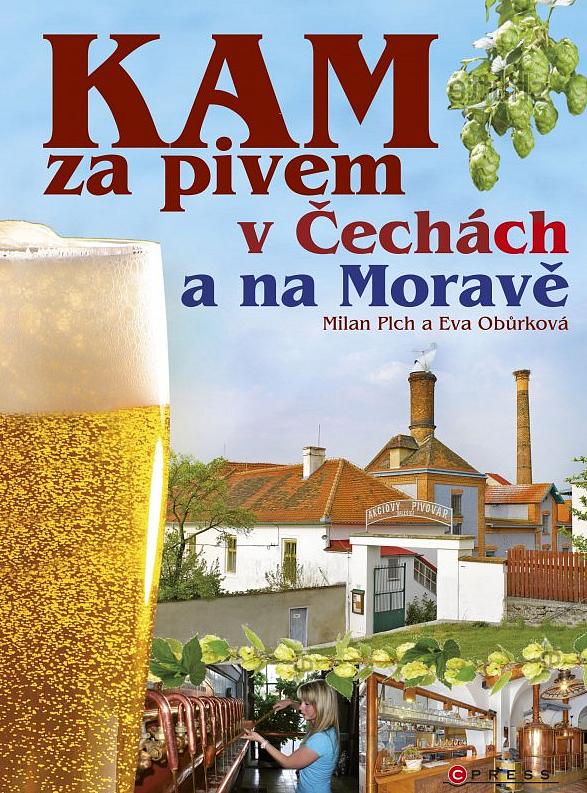 Kniha KAM za pivem v Čechách a na Moravě