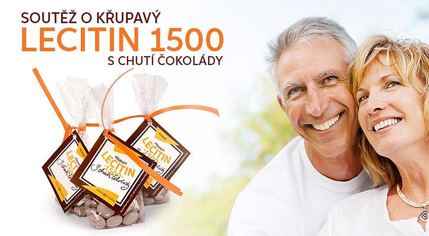 Soutěž o Lecitin 1500mg s chutí čokolády