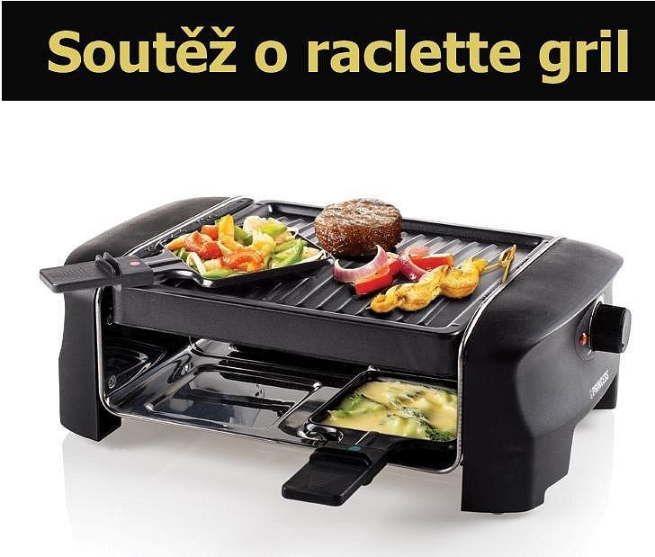 Soutěž o raclette gril Princess 16 2800