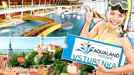 Soutěž o 5 rodinných vstupenek do Aqualand Moravia