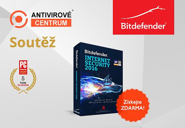 Získejte Bitdefender Internet Security zdarma