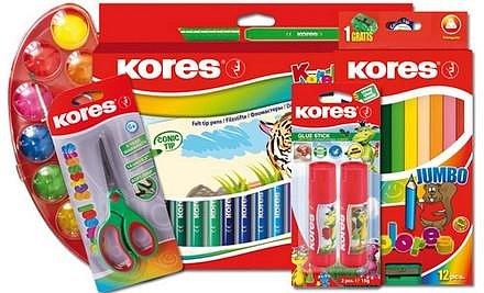 Vyhrajte pro své děti produkty Kores