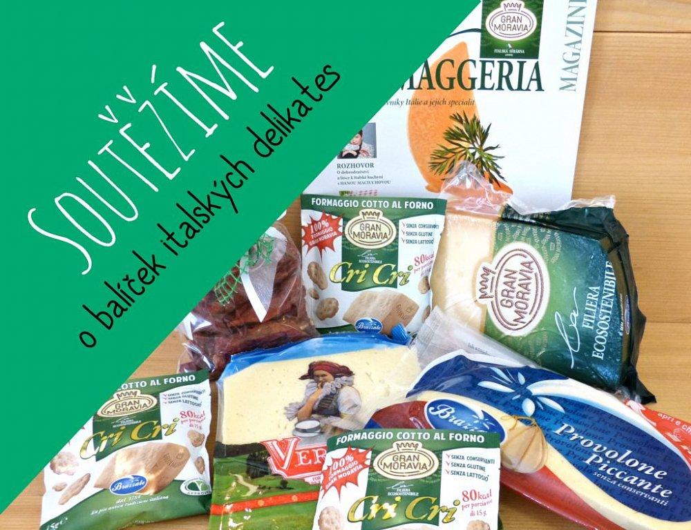 Soutěž o balíček italských delikates