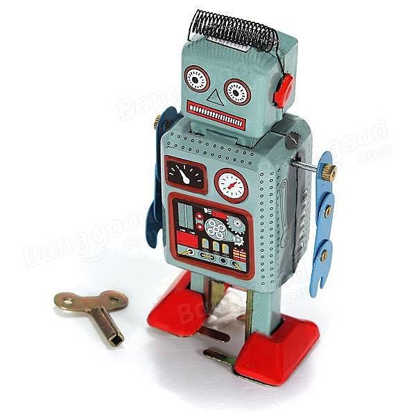 Soutež o retro robota