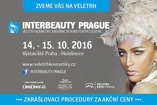 Soutěžte o vstupenky na veletrh Interbeauty Prague 2016