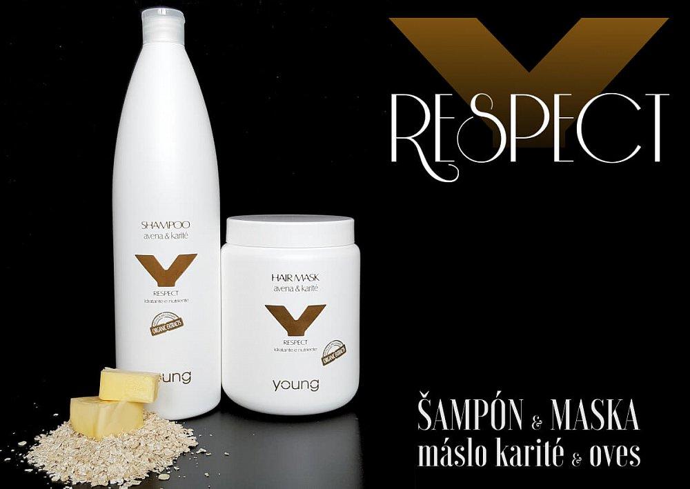 Říjnová soutěž o vlasovou kosmetiku Young Respect