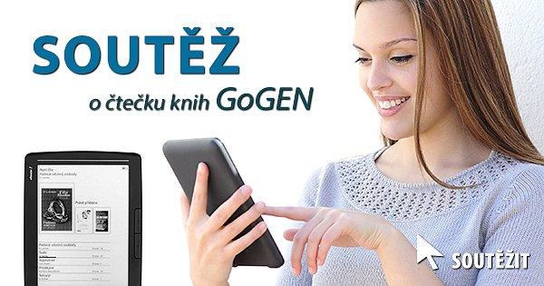 SOUTĚŽ o čtečku knih GoGEN z Kasa.cz