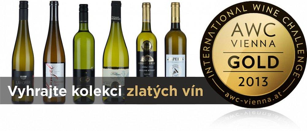 Vyhrajte medailová vína z AWC Vienna 2016!