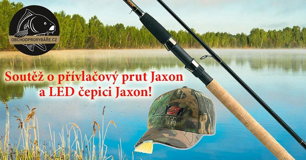 Soutěž o rybářský prut Jaxon a čepici