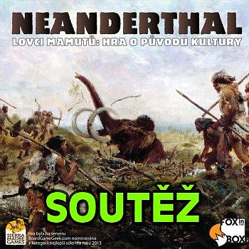 SOUTĚŽ o herní novinku NEANDERTHAL: Lovci mamutů