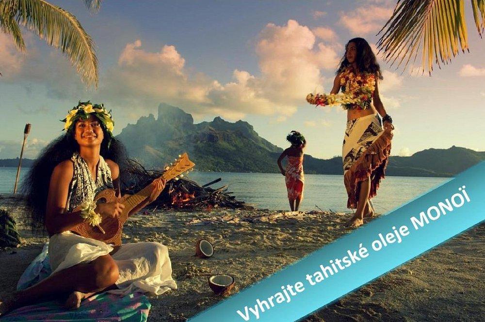 Soutěž o sadu Tahitských olejů