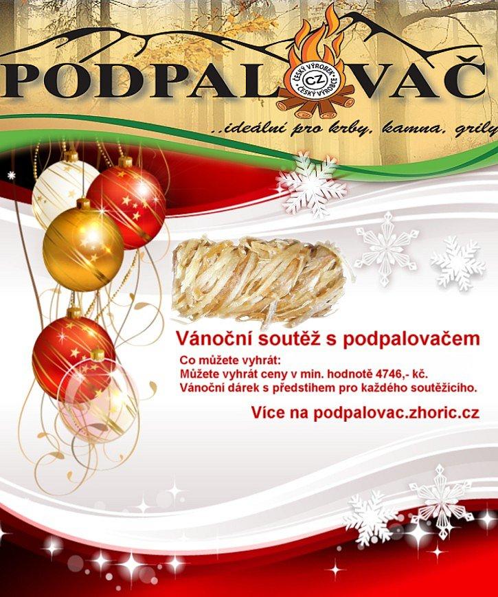 Vánoční soutěž s PODPALOVAČEM 2016