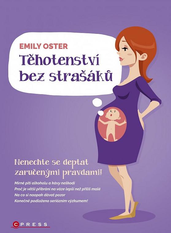 Soutěž o knihu Těhotenství bez strašáků