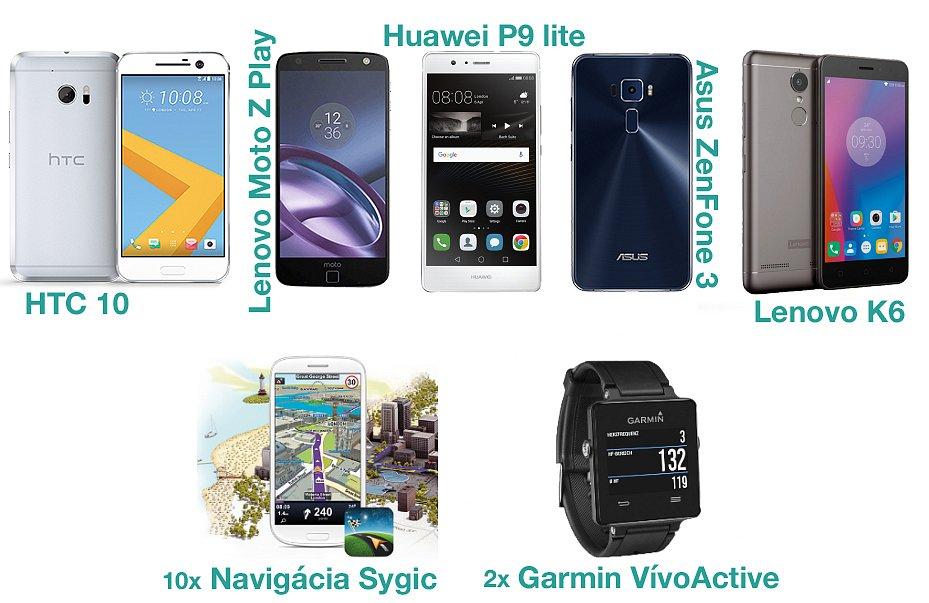 Hlasuj v anketě Android roku 2016 a vyhraj jeden z 5 smartphonů