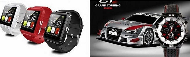 Kupte si SMART HODINKY U8 za 699kč z dopravou, typněte si jaký ze 3 bannerů nefunguje a získaté druhé hodinky zdarma
