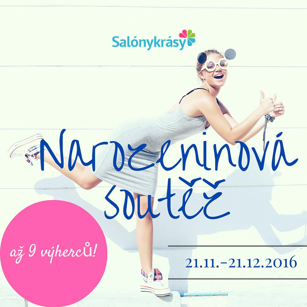 Salóny-krásy.cz slaví 9. narozeniny! (+soutěž!)