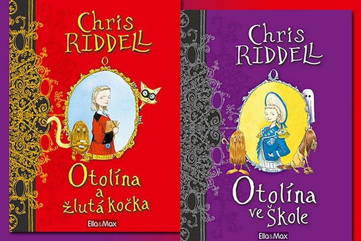 Vyhrajte některou z knih plných dobrodružství holčičky Otolíny!