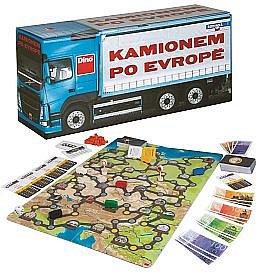 Soutěž o retro deskovou hru Kamionem po Evropě