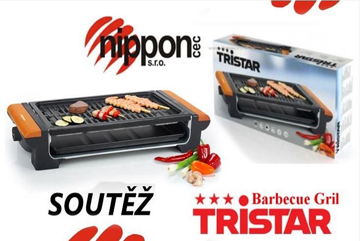 Soutěž o barbecue gril Tristar BP-2825
