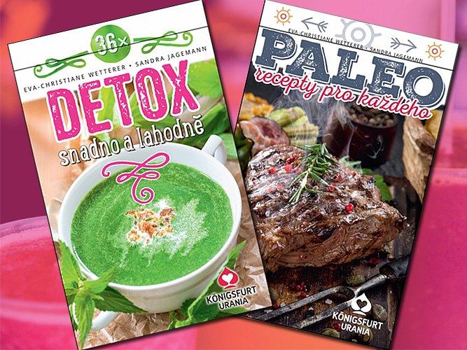 Vyhrajte sadu karet 36x Detox a Paleo recepty pro každého!