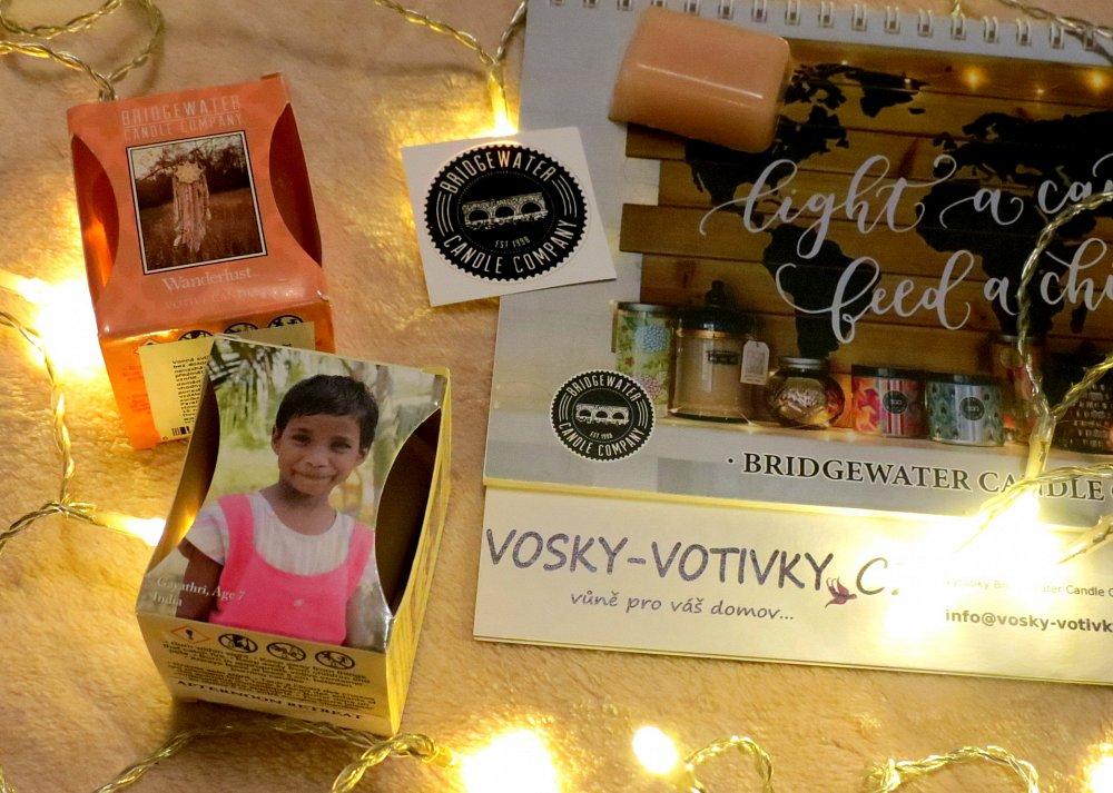 Vánoční soutěž o votivní svíčky a vonný vosk Bridgewater Candle