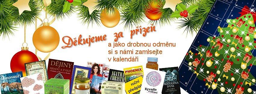 Adventní kalendář – vyhrajte čaje, knihy, kosmetiku
