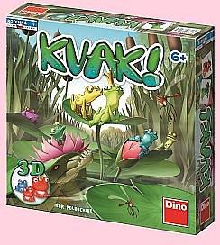 Soutěž o rodinnou deskovou hru KVAK! od DINO TOYS