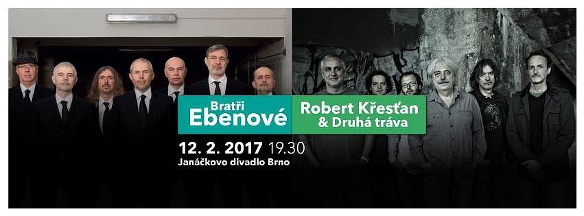 Soutěž o vstupenky na koncert Bratří Ebenů