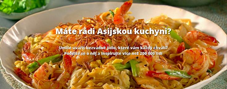 Vyhrajte kurz vaření: Kulinářská výzva o nejlepší recept z asijské kuchyně
