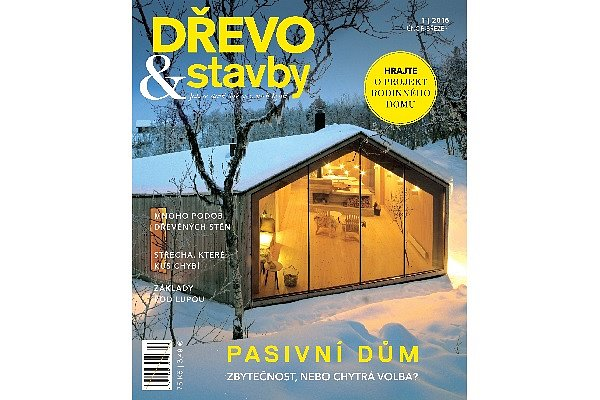 Vyhrajte roční předplatné časopisu Dřevo a stavby