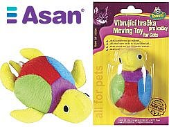 Soutěž o stelivo Asan Cat, WC Comfy a vibrující hračku pro kočky