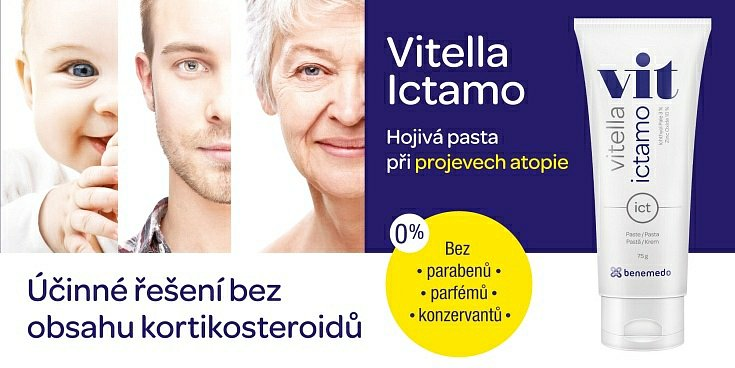 Soutěž o Vitella Ictamo - hojivou pastu bez kortikoidů