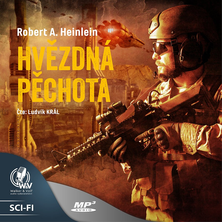 ► Soutěž o audioknihu Hvězdná pěchota ◄