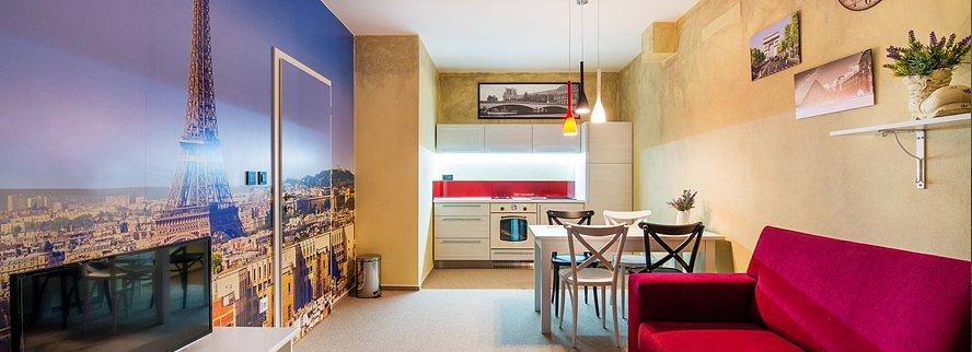 Soutěž o víkendový pobyt v apartmánu Paříž s volným vstupem do fitness a wellness