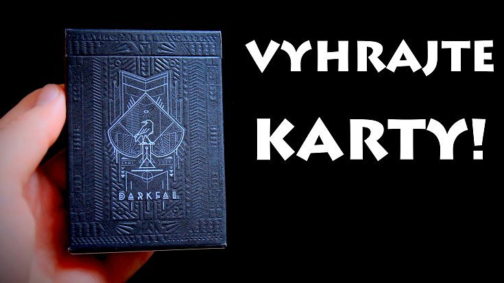 Vyhrajte balíček skvělých karet!