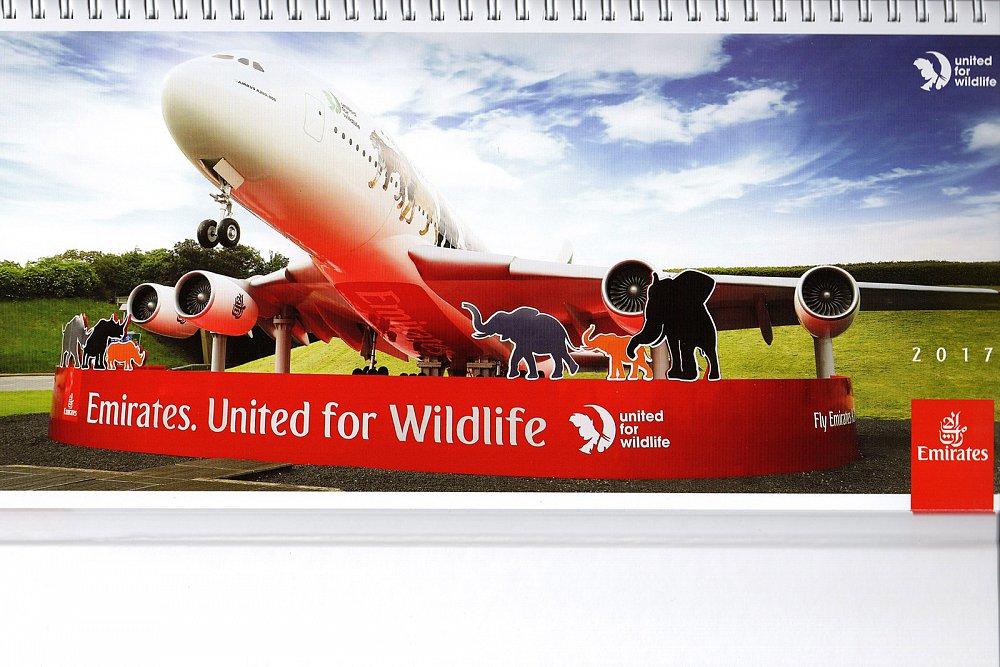 Soutěž o kalendář Emirates