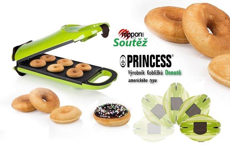 Soutěž o Výrobník koblížků-donutů Princess 13 2402