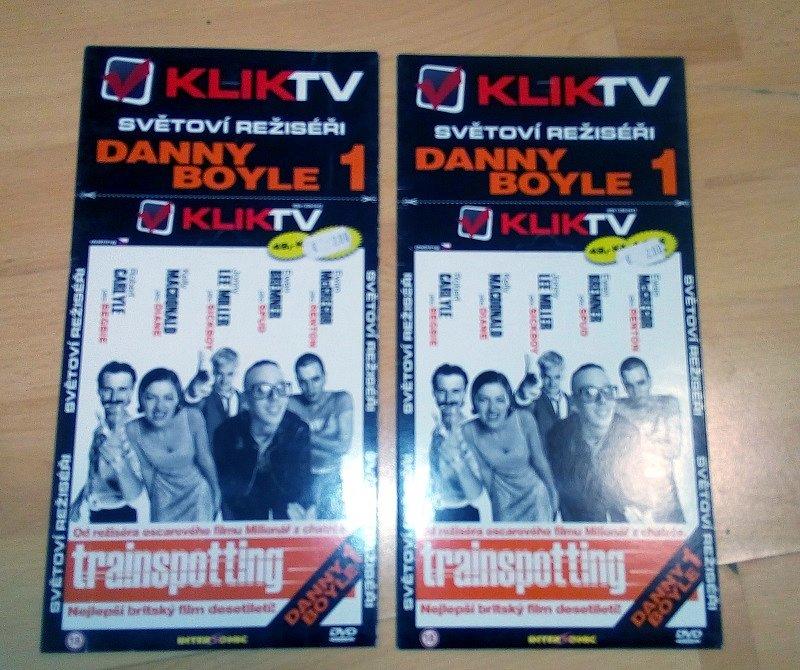 Soutěž o 2x DVD Trainspotting