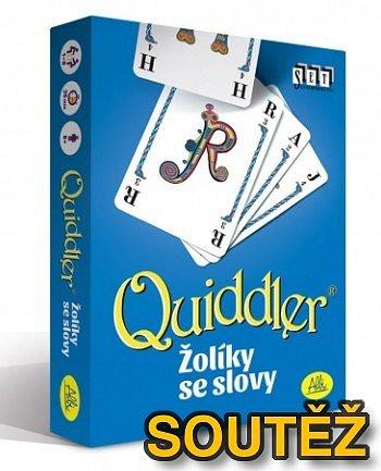 SOUTĚŽ o karetní herní novinku QUIDDLER od ALBI