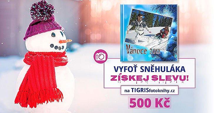 Sněhulácká soutěž o fotoknihu