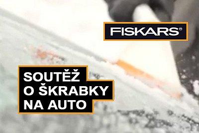 Soutěž o škrabky Fiskars