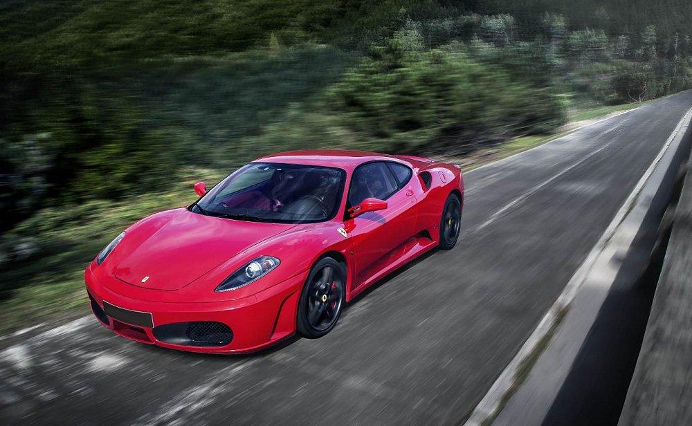 Soutěž o jízdu ve Ferrari F430