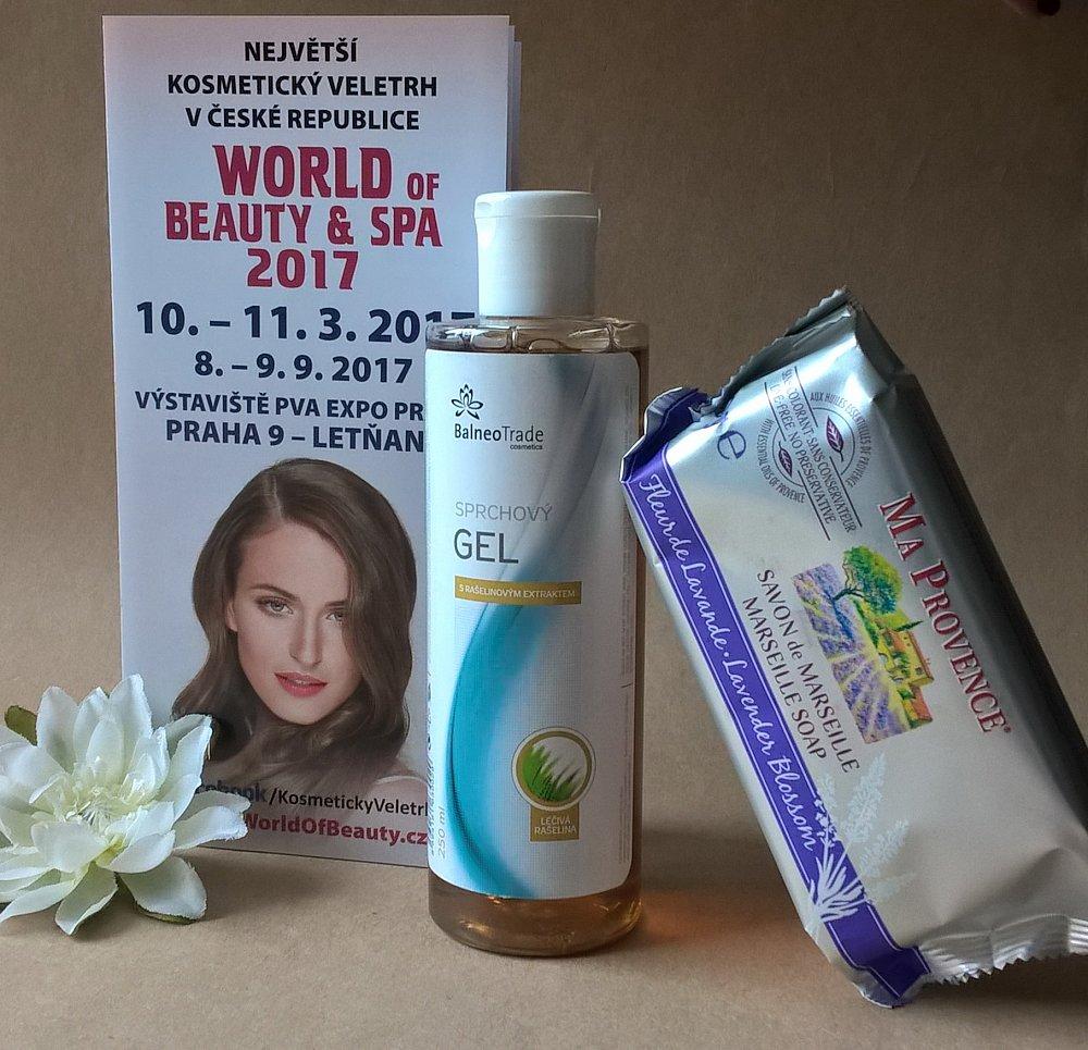 Soutěž o 3x kosmetický balíček a vstupenky na veletrh WORLD OF BEAUTY & SPA jaro 2017
