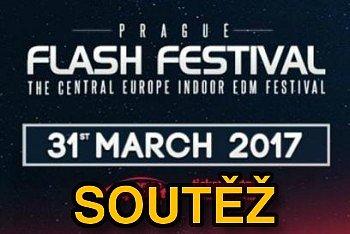 SOUTĚŽ o vstupenky na PRAGUE FLASH FESTIVAL do Prahy