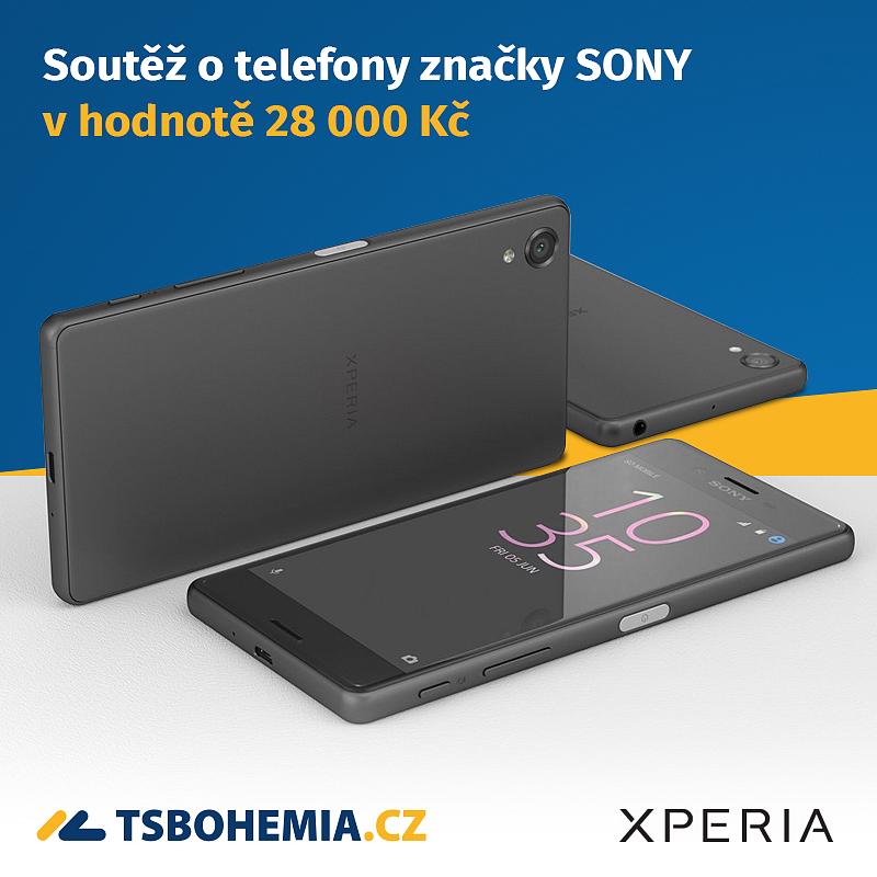 Soutěž o mobilní telefony Sony Xperia!
