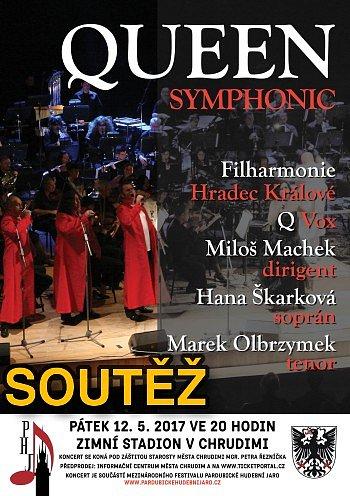 SOUTĚŽ o vstupenky na QUEEN Symphonic v Chrudimi