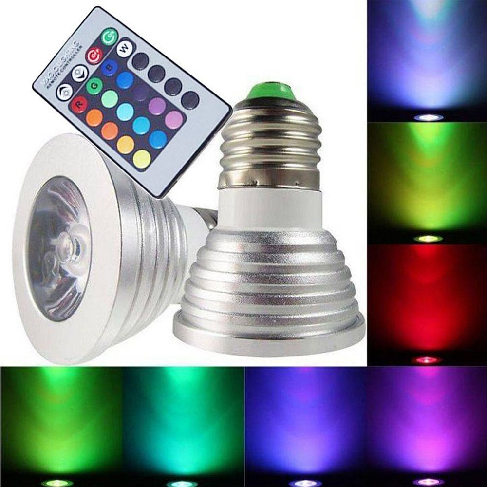 Soutěž o RGB LED žárovku na dálkové ovládání