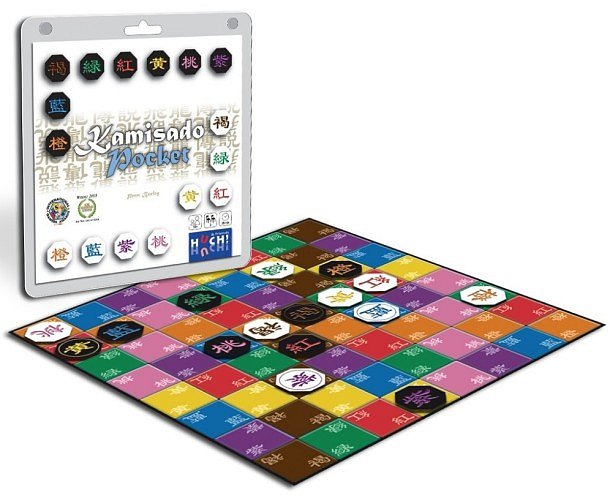 SOUTĚŽ o abstraktní deskovou hru KAMISADO pocket